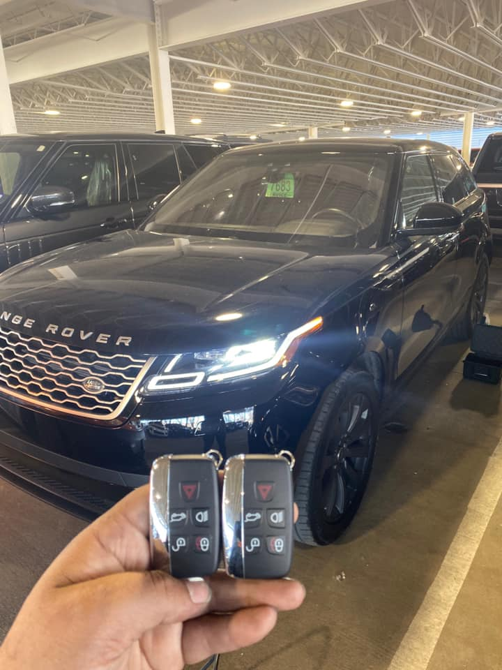 2019 Land Rover Range Rover Velar All keys lost replacement using JLR DOIP equipment and Pathfinder.